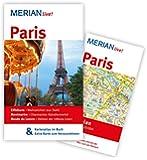 Paris: MERIAN live! - Mit Kartenatlas im Buch und Extra-Karte zum Herausnehmen
