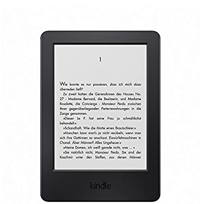 Kindle, 15,2 cm (6 Zoll) Touchscreen ohne Spiegeleffekte, WLAN - mit Spezialangeboten