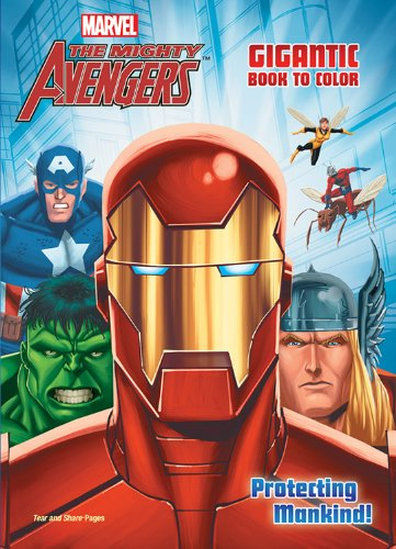 Marvel The Mighty Avengers Gigantic Book to Color