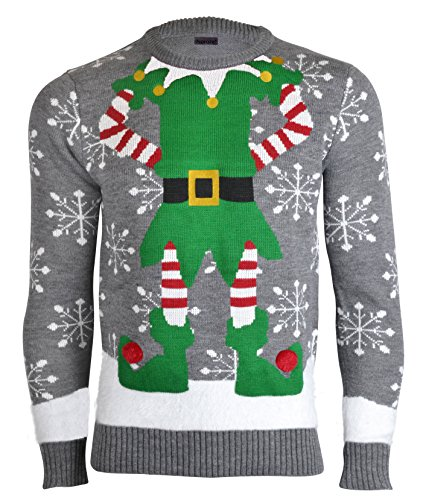 Knitting Patterns For Novelty Christmas Jumpers : Ugly Sweater Party Family Style