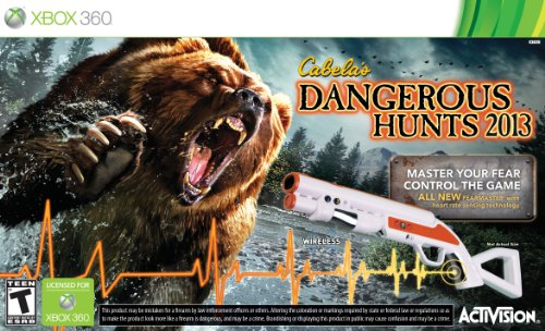 ActiVision, Inc. CABELA'S DANGEROUS HUNTS 2013 w/GUN X360 - ActiVision, Inc. - 76965 at Sears.com
