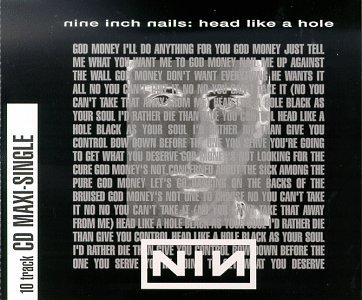 Nine Inch Nails - Head Like A Hole (Uk Cds) - Zortam Music