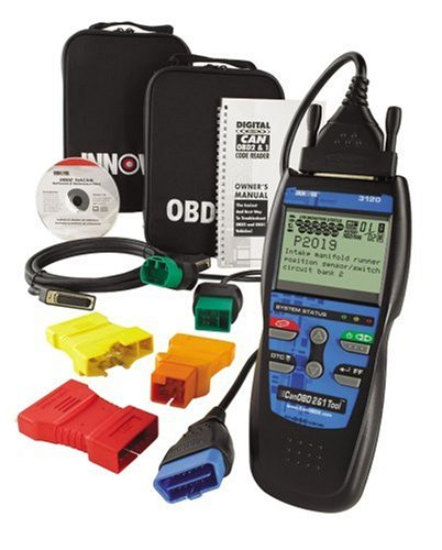 Equus 3120 Innova Diagnostic Code Scanner with Freeze Frame Data for OBDI and OBDII  Vehicles
