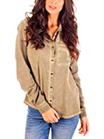 Lois Camisa Mujer Cindy Dover (Verde)