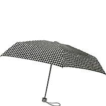 London Fog Ultra Mini Manual Umbrella,  Houndstooth