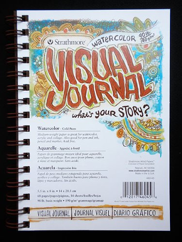 Strathmore Visual Journal Spiral Bound 5.5