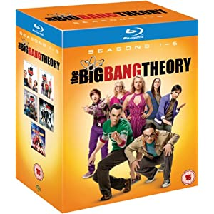 The Big Bang Theory - Complete Season 1-5 [Blu-ray][Region Free] $75.70 delivered from Amazon