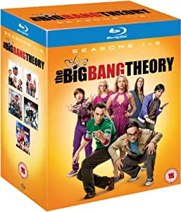 The Big Bang Theory - Complete Season 1-5 [Blu-ray] [Region Free]
