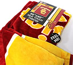 Silk Touch Throw USC University of Southern California Trojans 50\