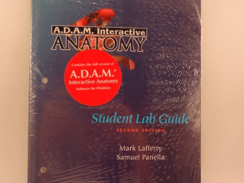 A.D.A.M. Interactive Anatomy: Student Lab Guide + CD-ROM (Windows)