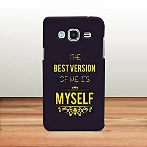 Krazzy Kollections Best Version of Me Designer Back Case Cover for Samsung Galaxy J2 (2016) EDITION | Samsung Galaxy J2 2016 Back Case
