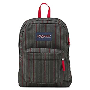 Jansport Superbreak Red Tape Grunge Stripe T50106F