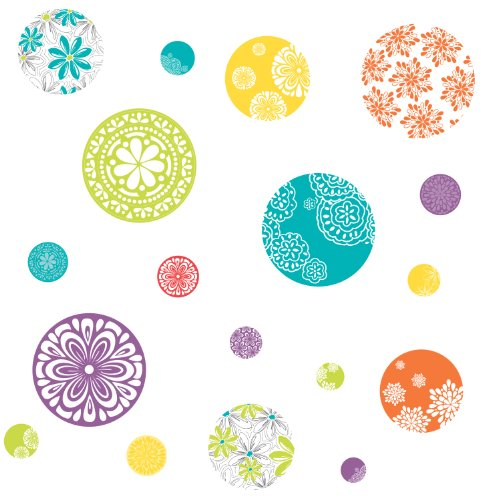 Sale alerts for RoomMates RoomMates RMK1707SCS Patterned Dots Peel and Stick Wall Decals - Covvet