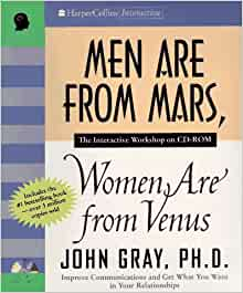 men from mars women are from venus john gray first print - photo #5