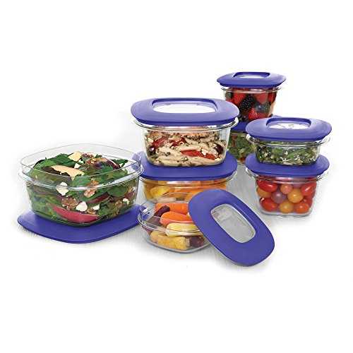 Rubbermaid 16 Piece Plastic Dome-shape Functional Durable Stylist Food Storage Containers (Rubbermaid Tub Red compare prices)