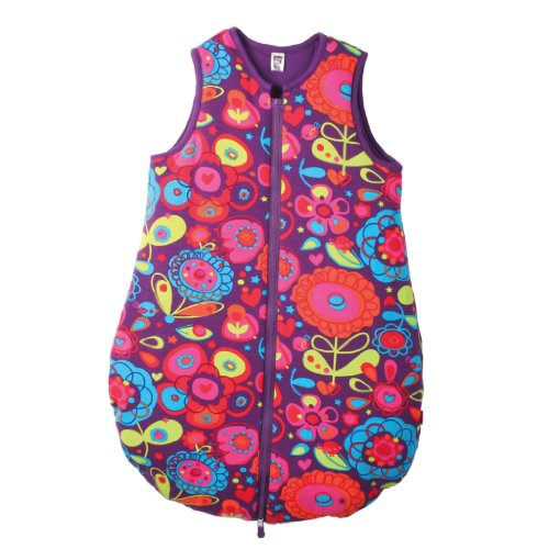 Tuc Tuc Girl Sleeping Bag Wearable Blanket Different World Collection. Multicolor. Size 0-6M. Talla T1.