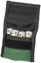 LensCoat bpaa44gr 8- Pouch for AA Battery (Green)