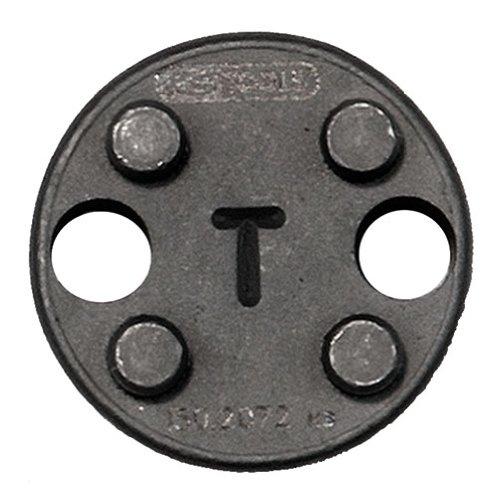 KS Tools 150.2072 - Adattatore T per utensile per la lavorazione dei pistoncini dei freni, ø 25 mm