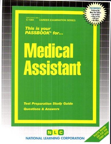 Medical Assistant (Passbook Series)