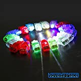Novelty Place® [Premium Quality] LED Party Finger Lights for Kids (40 Pcs)