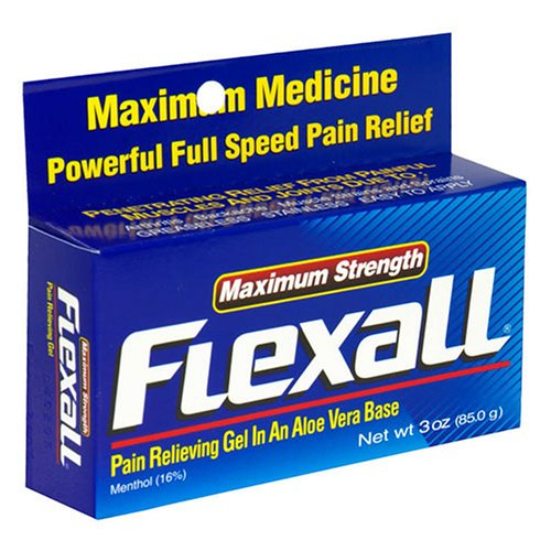 Flex-All Max Strength Topical Analgesic Cream 3 ounce Discount !!