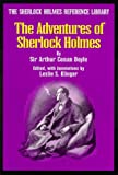 The Sherlock Holmes Reference Library: The Adventures of Sherlock Holmes (0938501267) by Arthur Conan Doyle
