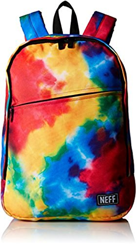 Neff Daily Backpack Tie Dye O/S & Performance Headband Bundle (Neff Tie Dye Backpack compare prices)