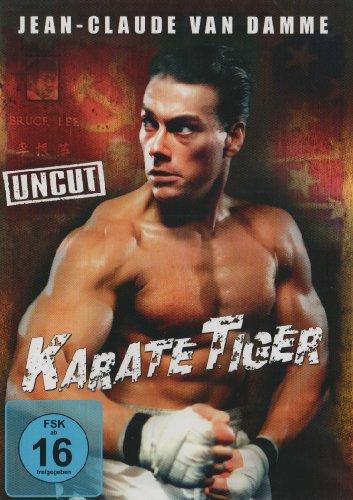 karate tiger jean claude van damme collection dvd cover 1988 r2 german. Black Bedroom Furniture Sets. Home Design Ideas