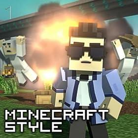 [Видео] Литерал Minecraft Style