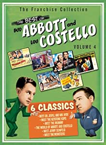 The Best of Abbott & Costello, Vol. 4 (Abbott & Costello Meet Dr. Jekyl & Mr. Hyde / Abbott & Costello Meet the Keystone Cops / Abbott & Costello Meet the Mummy / Abbott & Costello Meet Jerry Seinfeld / Abbott & Costello Meet the Monsters / The World of Abbott & Costello)