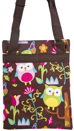 Colorful Owl Small Hipster Cross Body Shoulder Bag Purse Handbag
