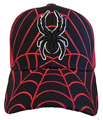 Kid's Youth Spider Man Hat - Adjustable Baseball Cap
