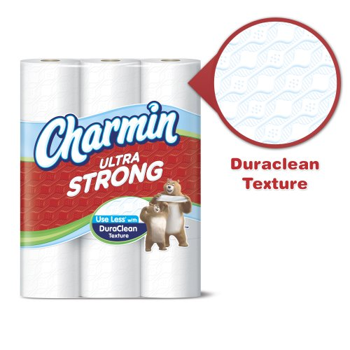 Charmin Ultra Strong Toilet Paper - Double Roll - 12 pk