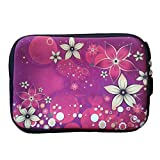 Pink Flower 7 Inch Tablet Ipad Mini Case Pouch Sleeve Stereo 6