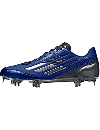 Adidas Mens Adizero Afterburner Low Metal Cleats
