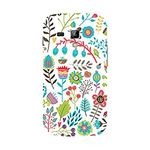 Garmor Designer Silicone Back Cover For Samsung Galaxy S Duos S7562