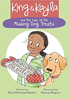 Book Cover: King & Kayla and the Case of the Missing Dog Treats