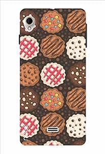 Noise Cookies Printed Cover for Intex Aqua Slice 2