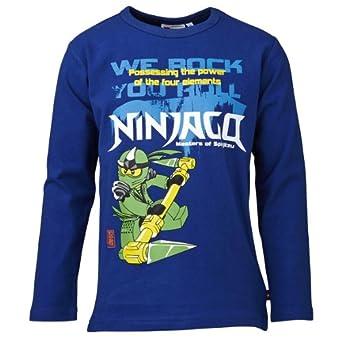Lego wear - ninjago - t-shirt - garçon - bleu (kobolt blue) - 4 ans
