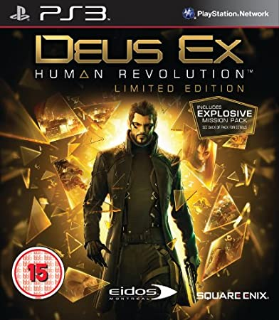 Deus Ex: Human Revolution - Limited Edition (PS3)