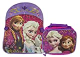 Fast Forward Backpack and Lunch Bag Set Frozen
