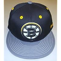 Boston Bruins Flat Visor Flex Reebok Hat - Size S/M - M089Z