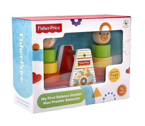 Fisher Price Wooden Balance Stacker - 1