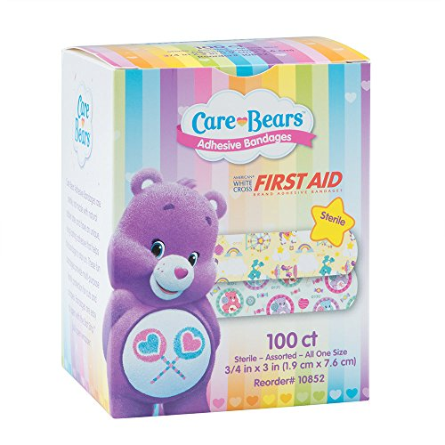 care-bears-bandages-first-aid-supplies-100-per-pack