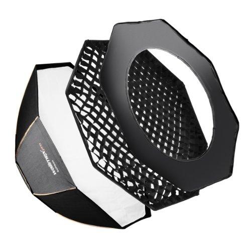 Walimex Pro - Octagon Softbox PLUS, Paraluce linea Orange per Elinchrom, diametro: 120 cm
