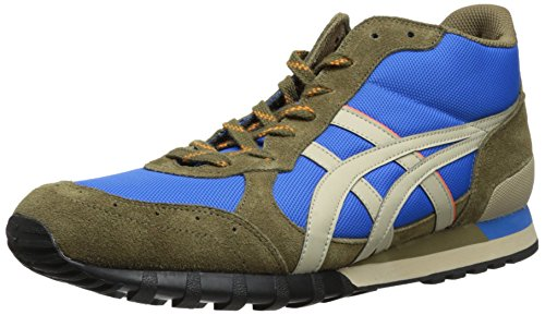 Onitsuka Tiger Colorado Eighty-Five MT Fashion Sneaker,Mid Blue/Sand,9.5 US/11 Women's M US