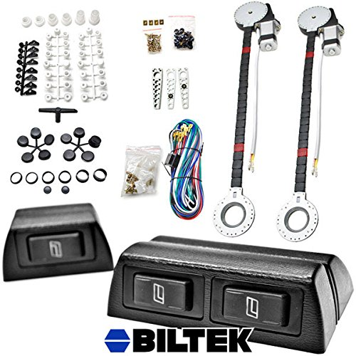 Biltek® 2x Car Window Automatic Power Kit Electric Roll Up For Ford Super Duty F-100 Ranger F-150 Heritage F-250 (Ford Ranger Power Window Switch compare prices)