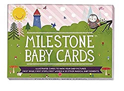Milestone Cards Milestone Baby Cards Gift Set -First Smile, First Steps, First Words & 25 Other Magical Baby Moments
