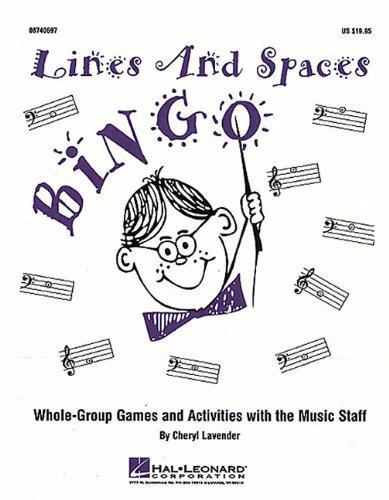 Free Download Lines and Spaces Bingo Ebook Online PDF