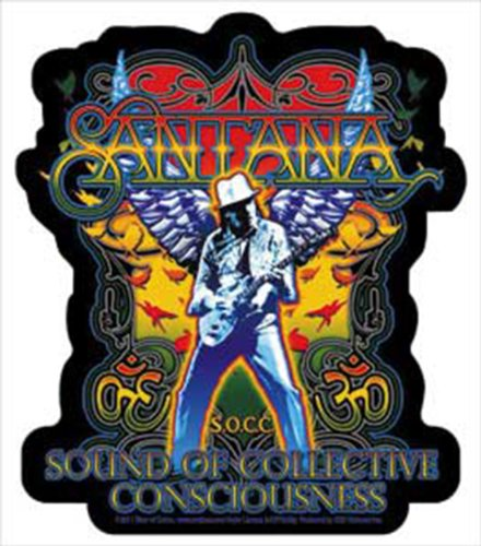 Licenses Products Santana Silhouette Sticker